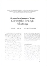what is customer value
