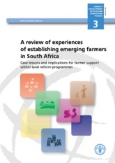 Emerging farmers in South Africa
