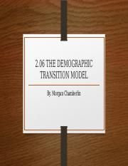 2.06 THE DEMOGRAPHIC TRANSITION MODEL.pptx