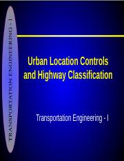 3-Location Controls and Highway Classification 3.ppt