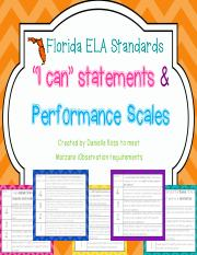 4thGradePerformanceScalesFLELAStandards (1)