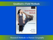 Qualitative Field Methods