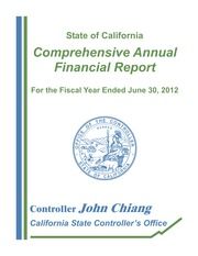 CA financial report