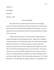 tristanessay