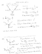 Solutions to Problem Set no 3