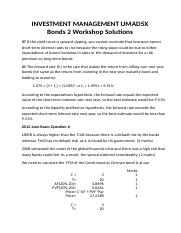 Bonds 2 Solutions