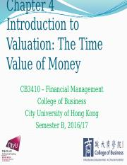 Chapter 4 Introduction to Valuation The Time Value of Money .pptx