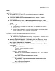 READINGS TEST 2 - design
