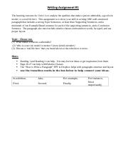 Writing Assignment 1 - INFO PAGE.docx