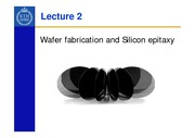 Lecture_2-silicon_wafer_&_Si_epitaxy