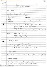 Introduction to Vectors Class Notes