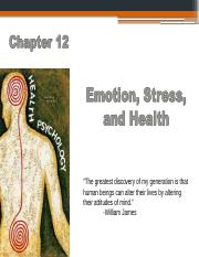 Chapter 12 Emotion Stress and Health(1) (1).pptx