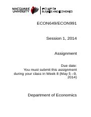 ECON649_Assignment1_S12014.docx