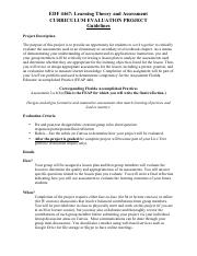 4467 - Curriculum Evaluation Project Instructions.pdf