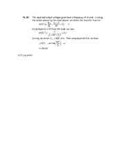 Solution- Sample problems