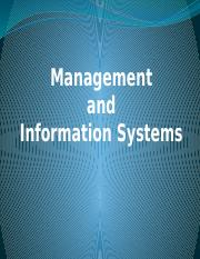 Management and Information Systems   lesson three3.pptx
