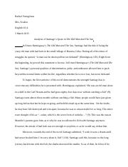 Old Man and The Sea Essay .docx