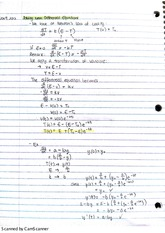 13. differential equation analysis