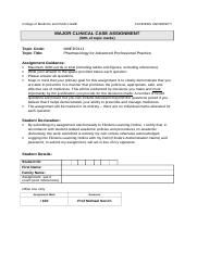 #319042--Major Clinical Case Assignmnt.doc