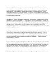 sexual arousal and response pdf