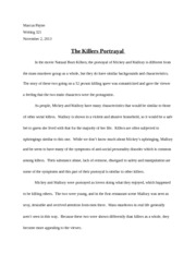 should college athletes be paid essay marcus payne  2 pages natural born killers essay