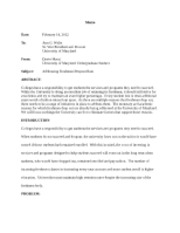 university of maryland college park essay prompt 2014