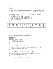 Exam 2-1 Solution Fall 2002 on Data Structures