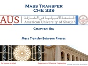 Chapter 6-Mass Transfer Between Phases