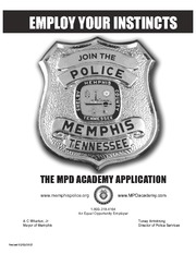 MPD Application - EMPLOY YOUR INSTINCTS