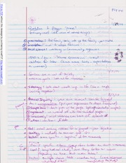 Notes on Personal Inquiry and Goals