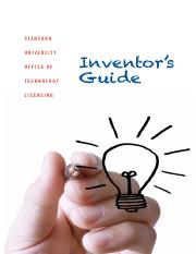 Stanford Inventors Guide