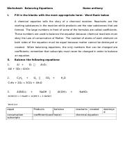 Balancing Worksheet HW 1.docx