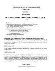 International Trade Vol 2