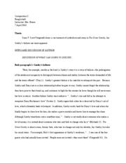 comp composition iowa lakes page course hero 2 pages the great gatsby