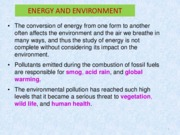 Chapter 2_Energy and Enviroment