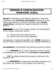MERGER & CONSOLIDATION_ OVERVIEW.pdf