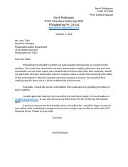 Inquiry Letter