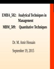 EMBA502&MBM509_Day2