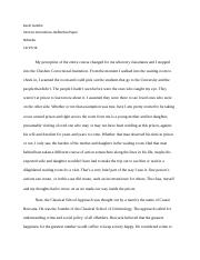Intro to corrections Final paper