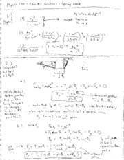 Exam 1 Solutions S08