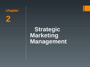 Chapter02 - Strategic Marketing Mmgt