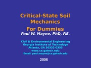 148380921-Critical-state-soil-mechanics.ppt