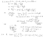 Homework 2 Solution on Calculus