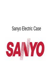 Sanyo Electric Case(2)