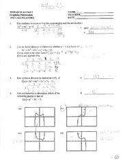 M328 - Quiz Chapter 4A PART 1 with Answers