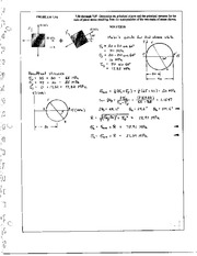 808_Mechanics Homework Mechanics of Materials Solution