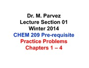 Chapter 1-4: Practice Problems & Answers