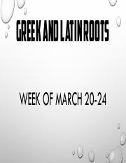 March 20-24