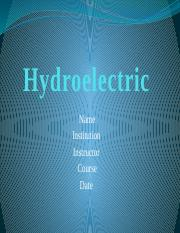 Hydroelectric.pptx
