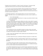 African Stuides Notes 5